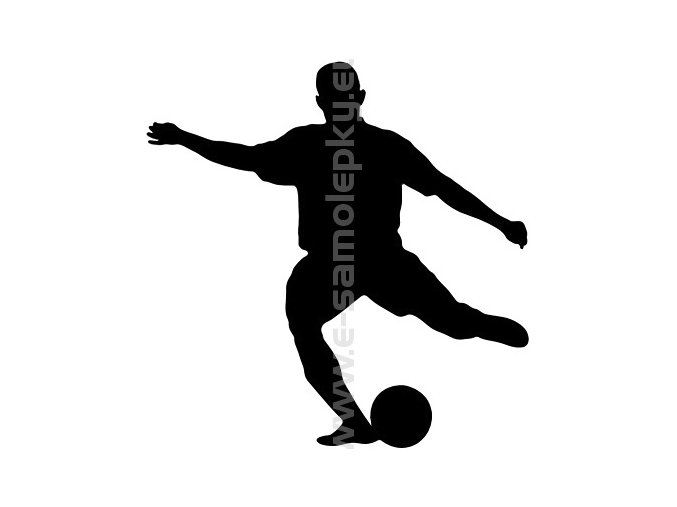 Samolepka - Fotbalista 06