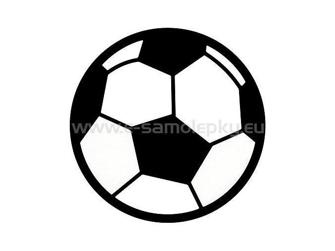 Samolepka - Fotbalový míč