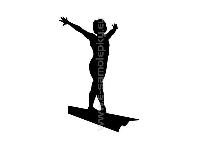 Samolepka - Gymnastika