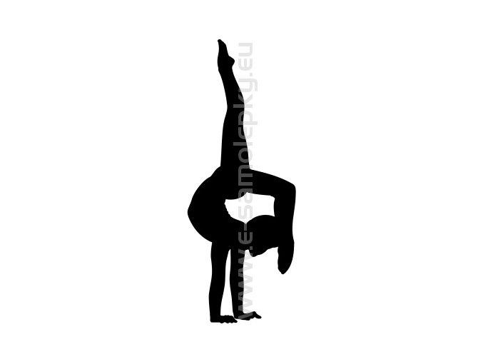 Samolepka - Gymnastika 03