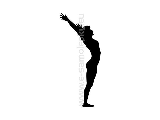 Samolepka - Gymnastika 04