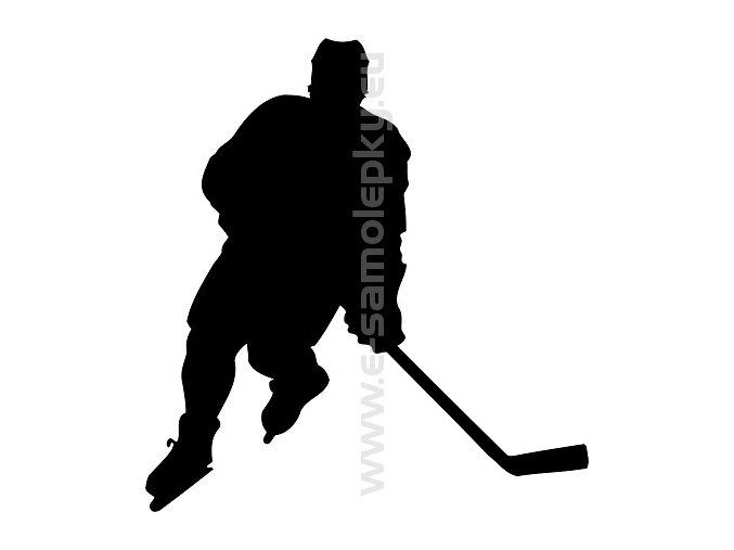 Samolepka - Hokejista