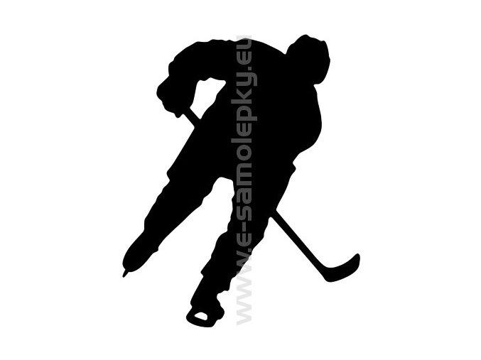 Samolepka - Hokejista 03