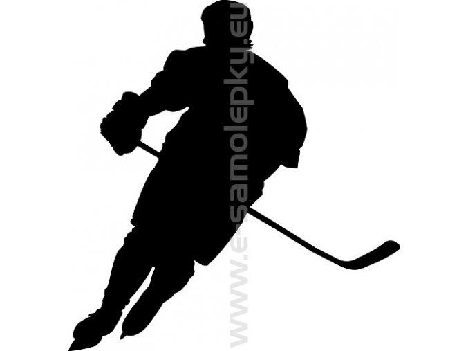 Samolepka - Hokejista 06