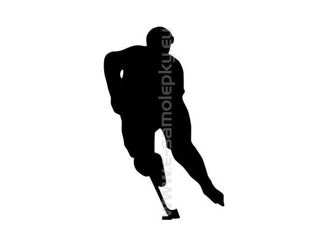 Samolepka - Hokejista 08