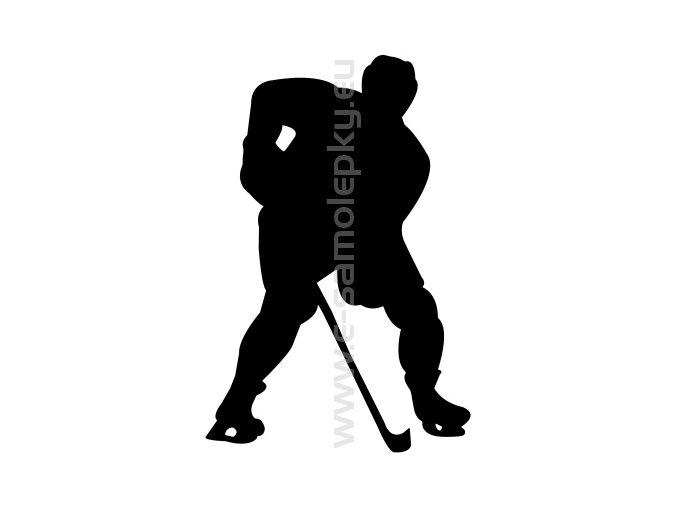Samolepka - Hokejista 09