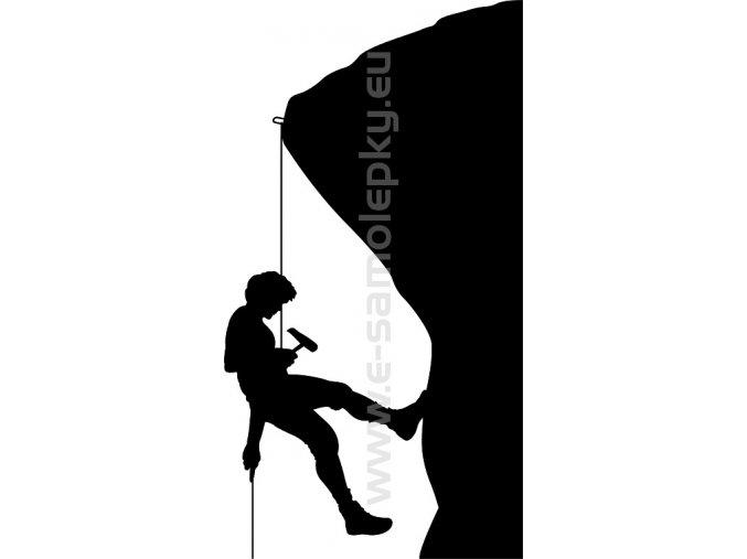 Samolepka - Horolezec