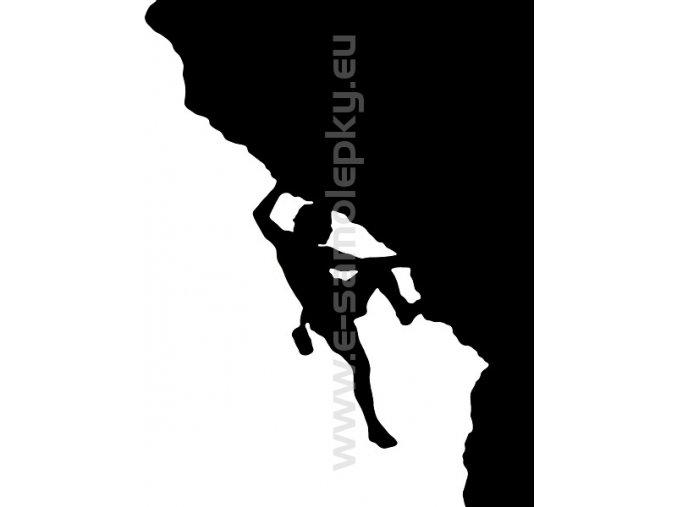 Samolepka - Horolezec 03