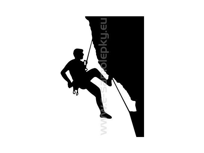 Samolepka - Horolezec 06