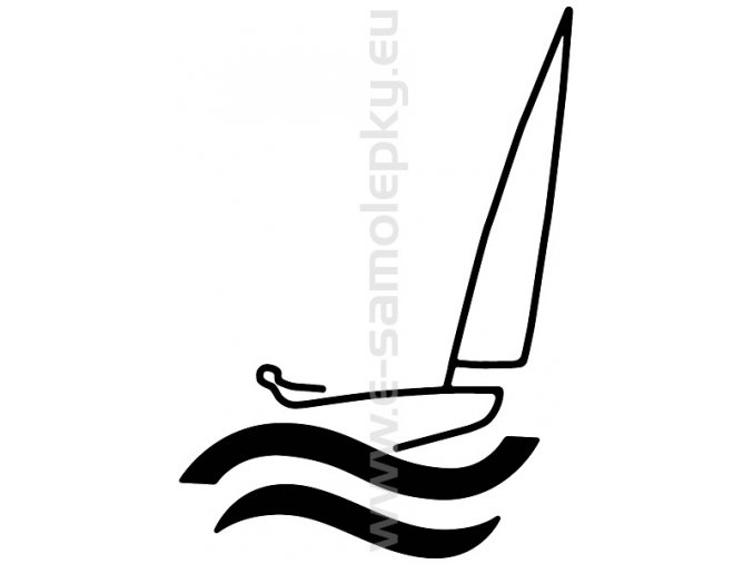 Samolepka - Jachting 05