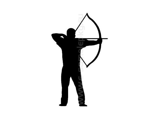 Samolepka - Lukostřelba