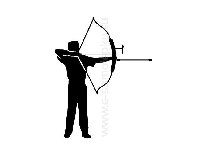 Samolepka - Lukostřelba 02