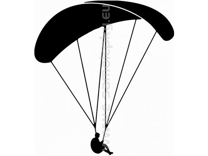 Samolepka - Paragliding 02
