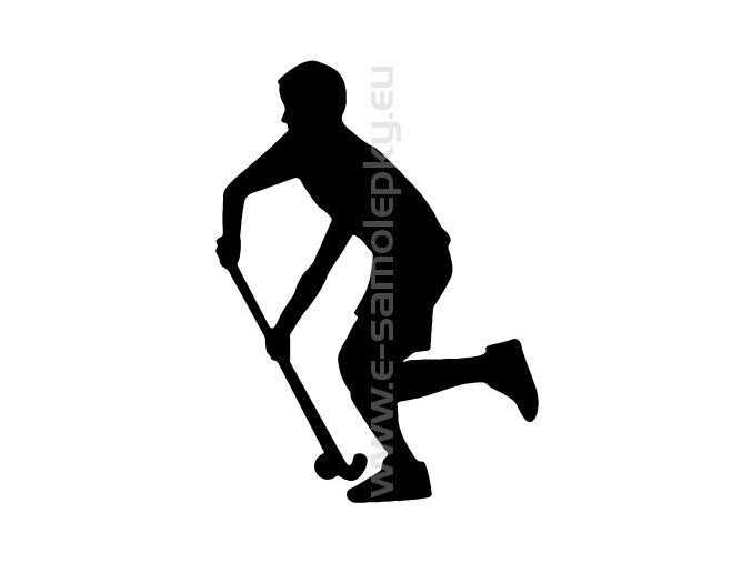 Samolepka - Pozemní hokej- muž