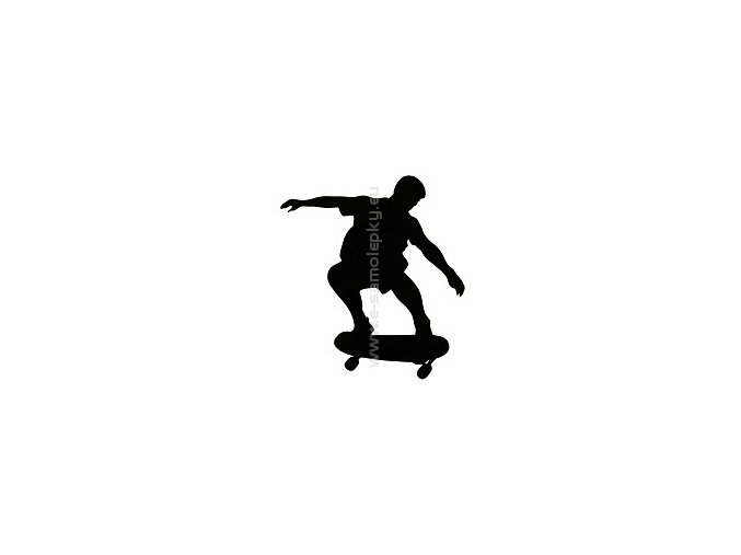 Samolepka - Skateboard