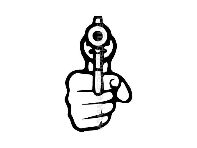 Samolepka - Střelba 06
