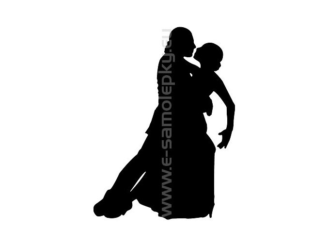 Samolepka - Tanec 03