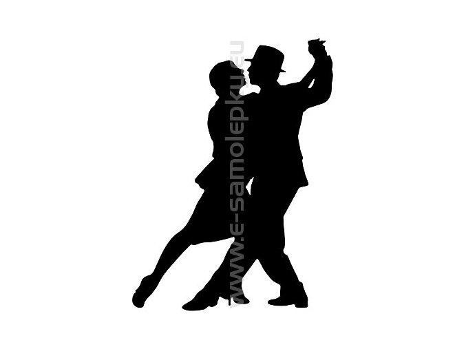 Samolepka - Tanec 05