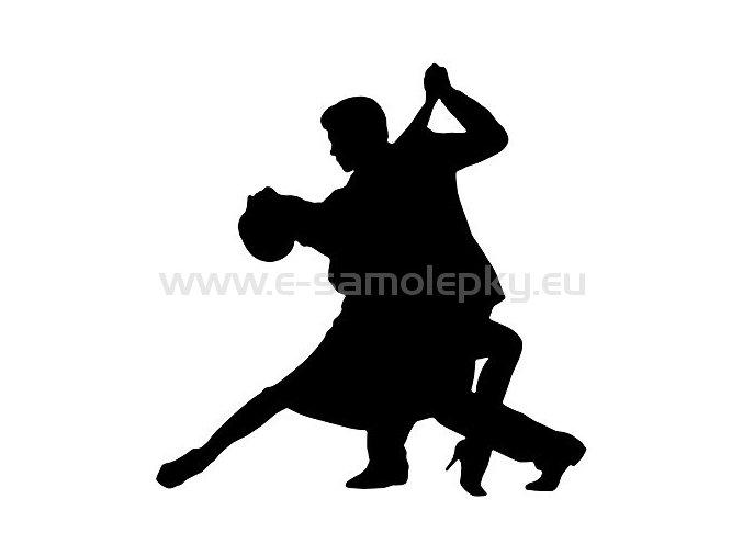 Samolepka - Tanec 06