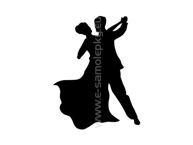 Samolepka - Tanec 09