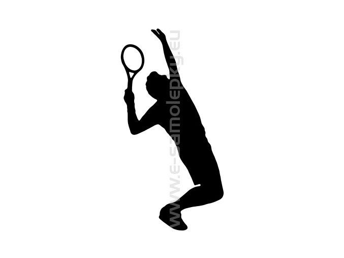 Samolepka - Tenista 04