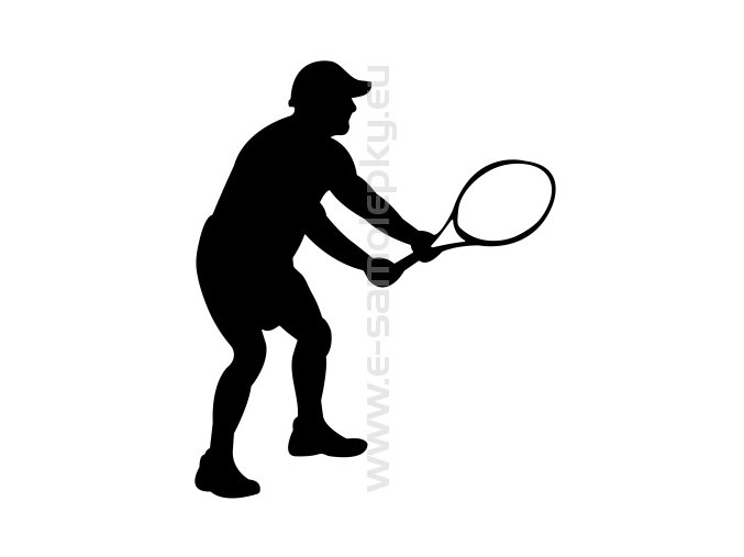 Samolepka - Tenista 05