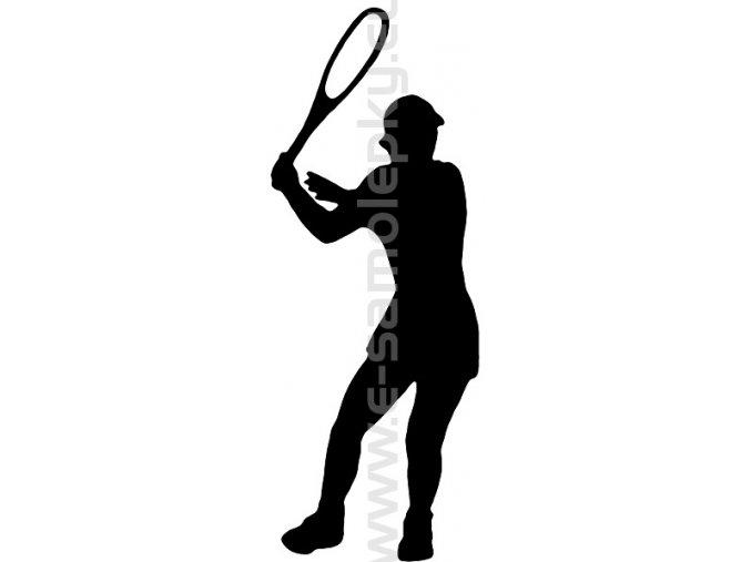 Samolepka - Tenistka 02