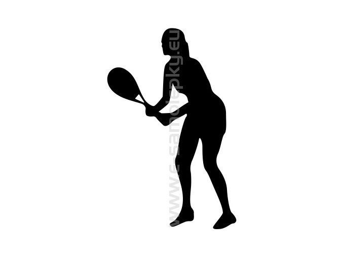 Samolepka - Tenistka 03