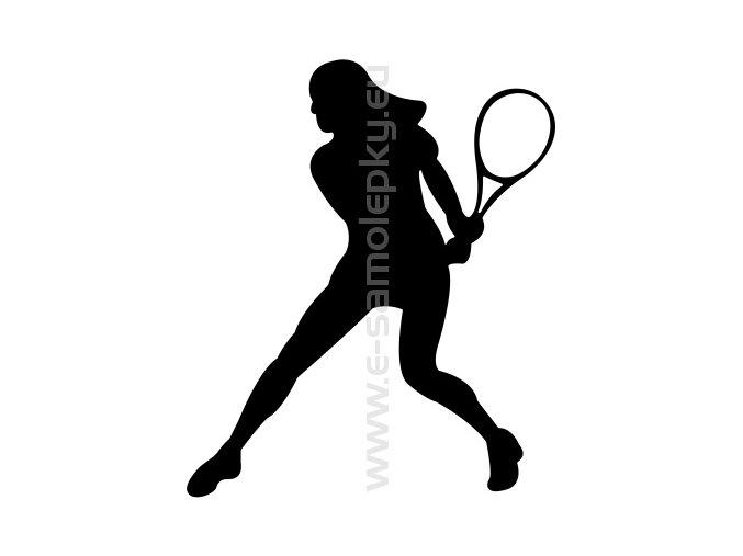 Samolepka - Tenistka 05