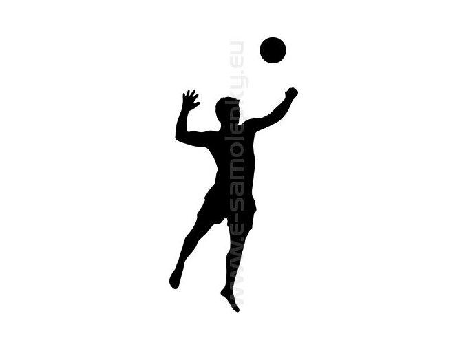 Samolepka - Volejbal 05