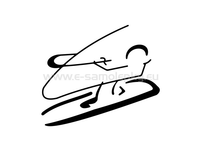 Samolepka - Windsurfing 04