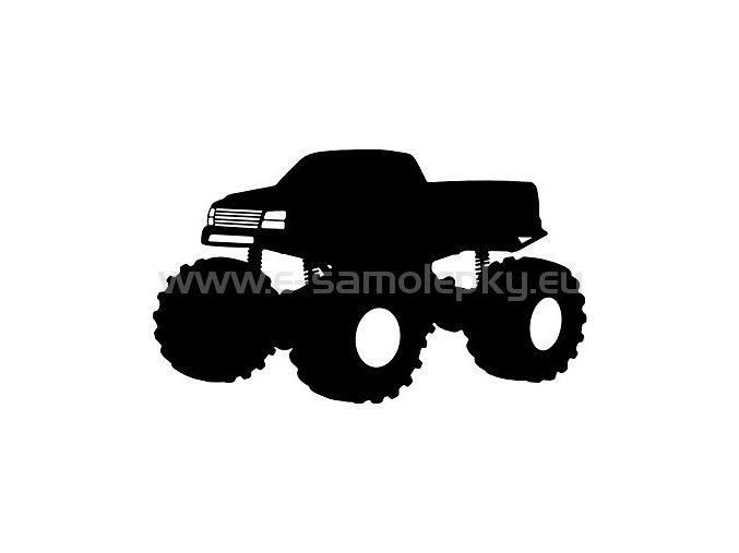 Samolepka - Monster truck