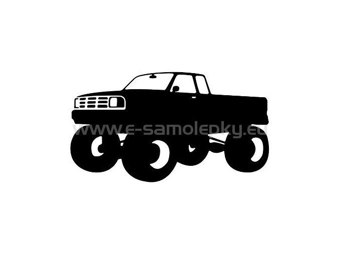 Samolepka - Monster truck 02