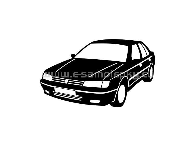 Samolepka - Peugeot 605