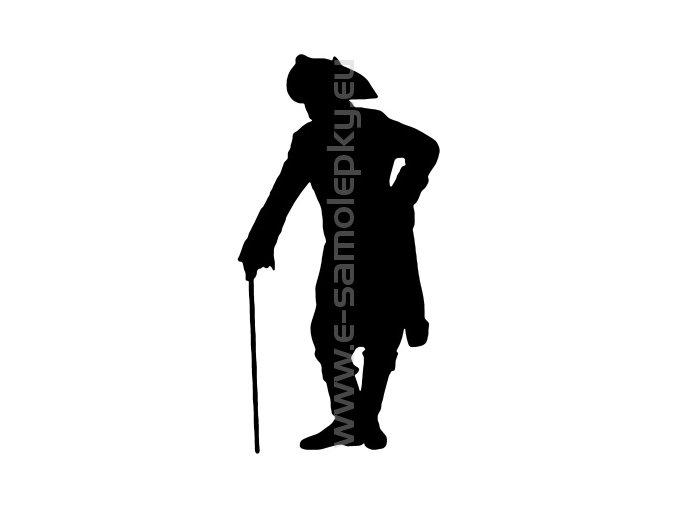 Samolepka - Old soldier