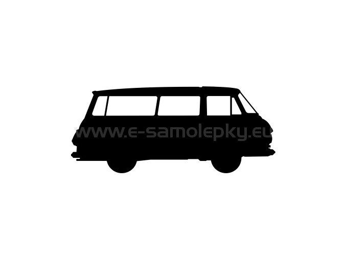 Samolepka - Škoda 1203 BUS
