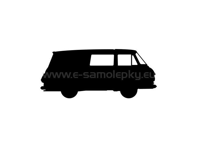 Samolepka - Škoda 1203 COM