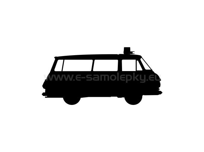 Samolepka - Škoda 1203 Sanitka
