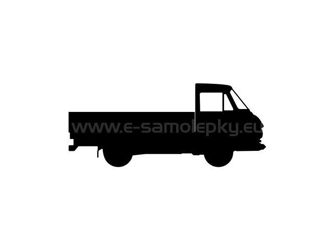 Samolepka - Škoda 1203 Valník