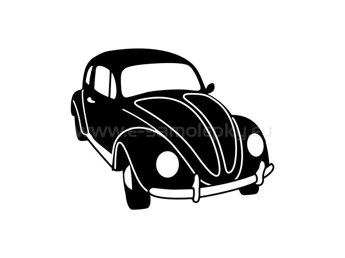Samolepka - Volkswagen Brouk