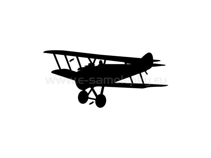 Samolepka - Letadlo Sopwith Camel