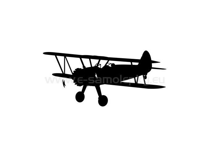Samolepka - Letadlo Stearman PT 17