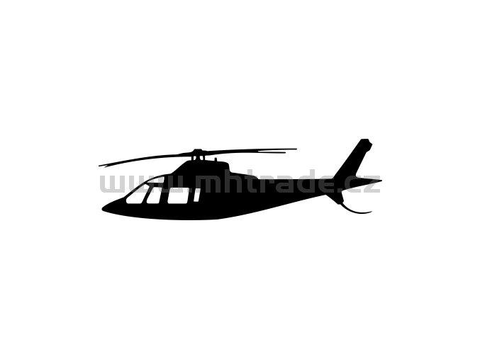 Samolepka - Vrtulník Agusta A109