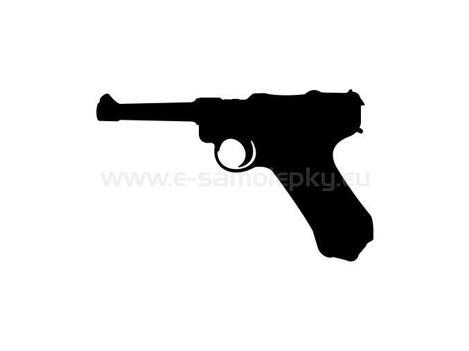 Samolepka - Pistole P-8 Parabellum