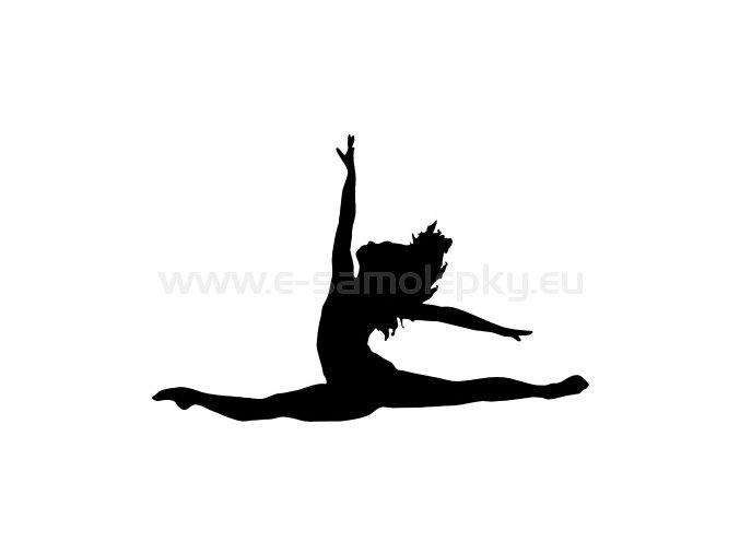 Samolepka - Tanec 10