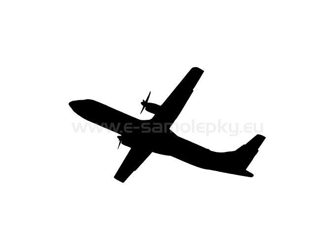 Samolepka - Letadlo ATR 72