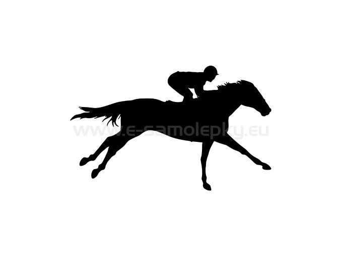 Samolepka - Kůň 29
