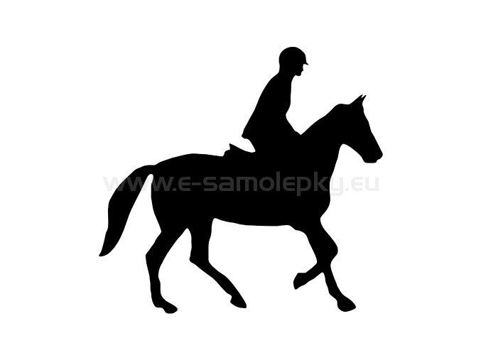Samolepka - Kůň 30