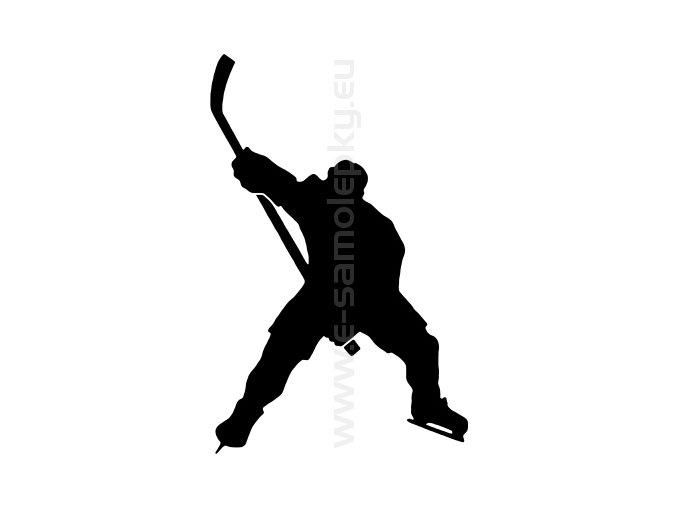Samolepka - Hokejista 12