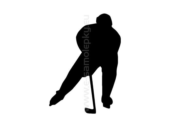 Samolepka - Hokejista 13